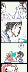 bleach - renshuu doodle by pandabaka