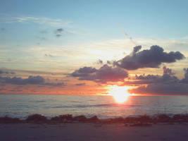 Seaweed Sunrise by punkyitz