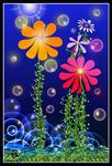 Blooming under water