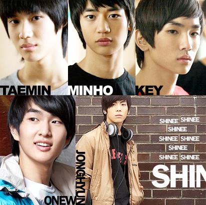 SHINee by XxpiyokoxX