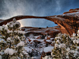 Arch in Winter3 by MartinGollery