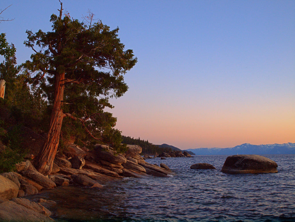 East Shore Tahoe sunset by MartinGollery
