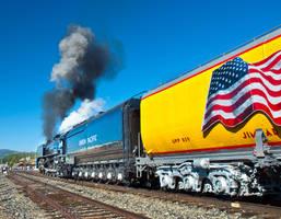 steam train 844