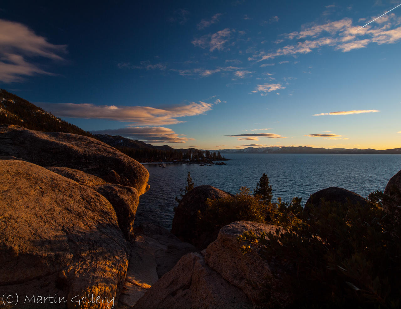 East Shore Sunset by MartinGollery