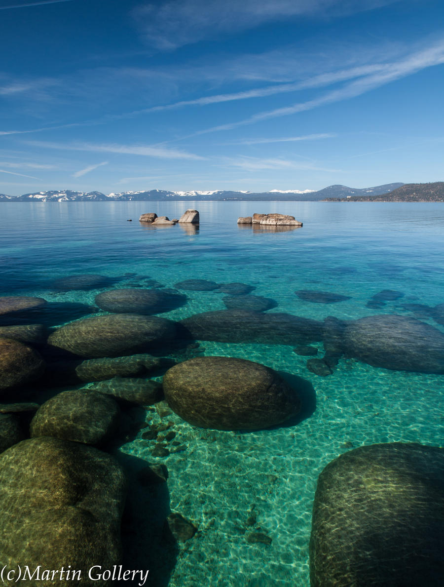 East Shore Spring Lake Tahoe Nevada by MartinGollery