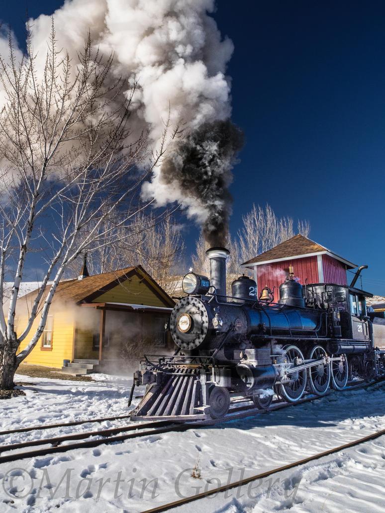Nsrm Steam Locomotive131215-33 by MartinGollery