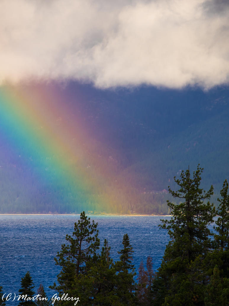 East shore rainbow141015-45 by MartinGollery