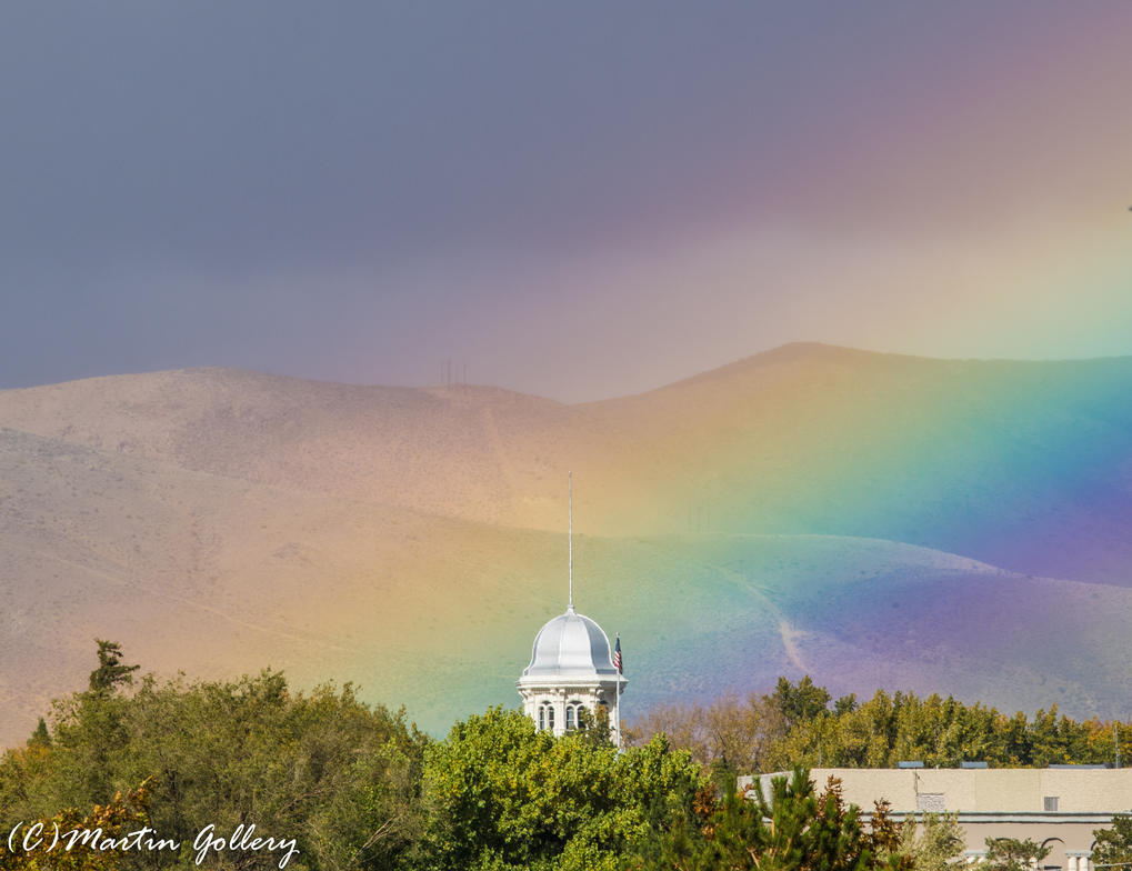 Nevada Rainbow 141025-105 by MartinGollery