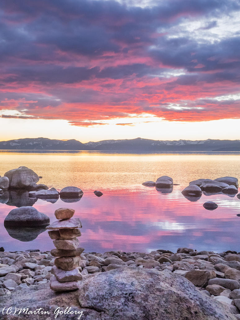 Lake Tahoe sunset150122-97 by MartinGollery