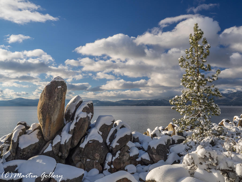 Lake Tahoe Nevada snow150301-81 by MartinGollery