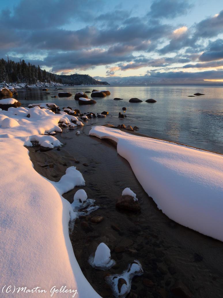 Lake Tahoe Nevada snow150301-157 by MartinGollery