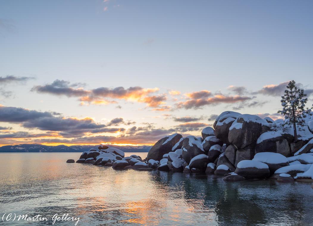 Lake Tahoe Nevada snow150301-172 by MartinGollery