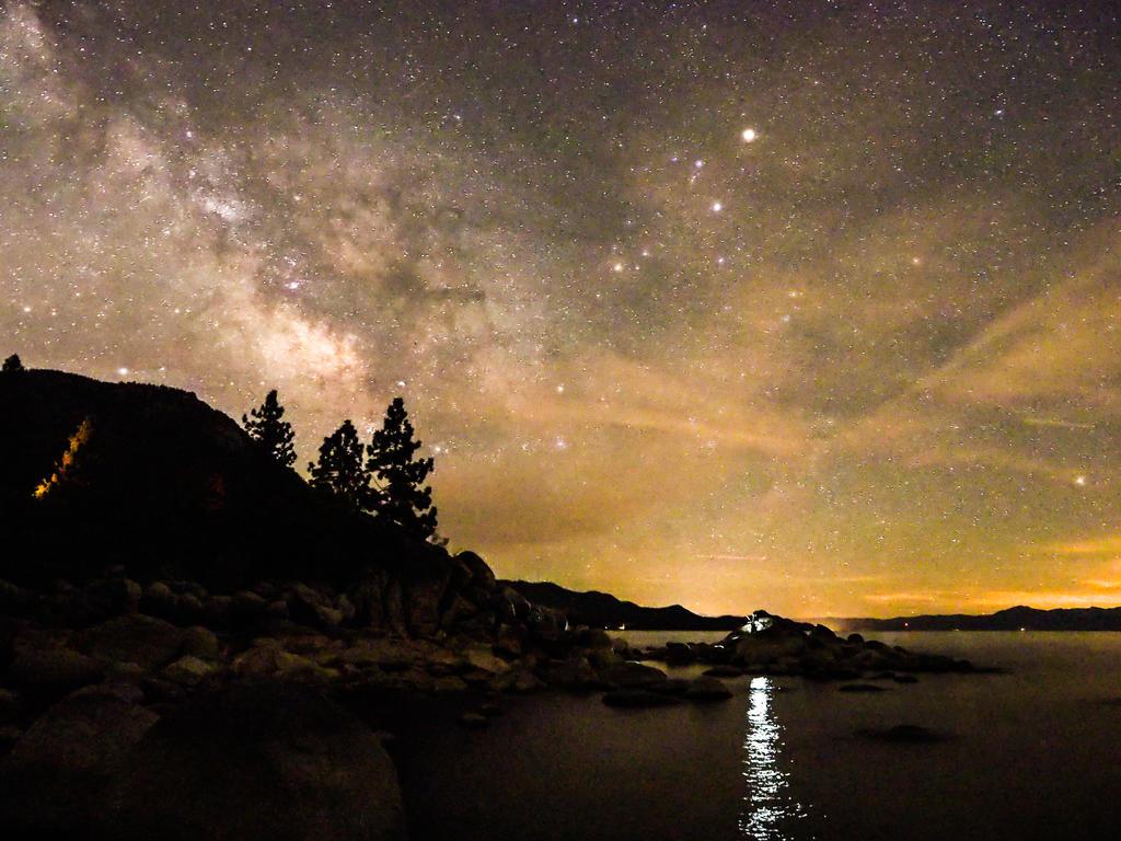 Hidden Beach stars150614-111 by MartinGollery