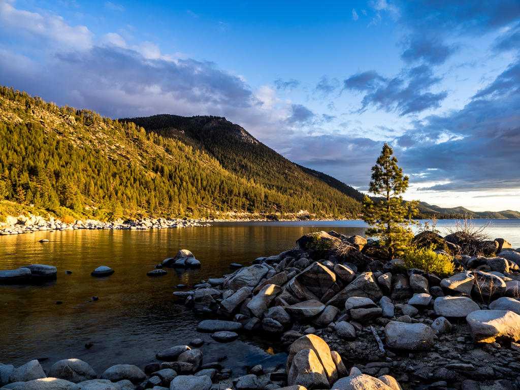 East shore sunset151015-37 by MartinGollery