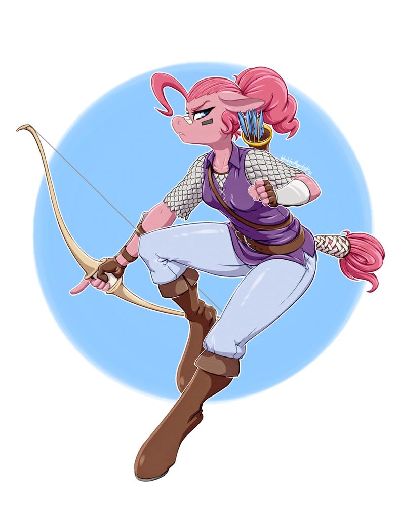 Ranger Pinkie by HobbsMeerkat