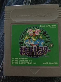 Japanese Pokemon Green