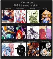 2016 summary of art!