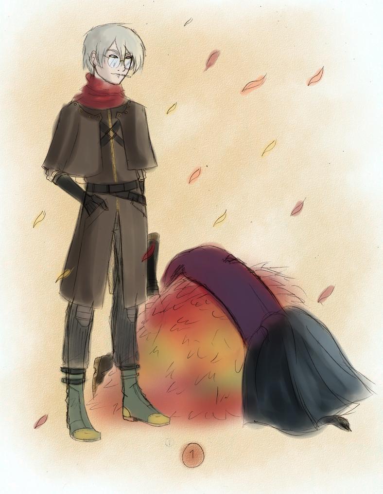 1 Fall Leaves by lealin