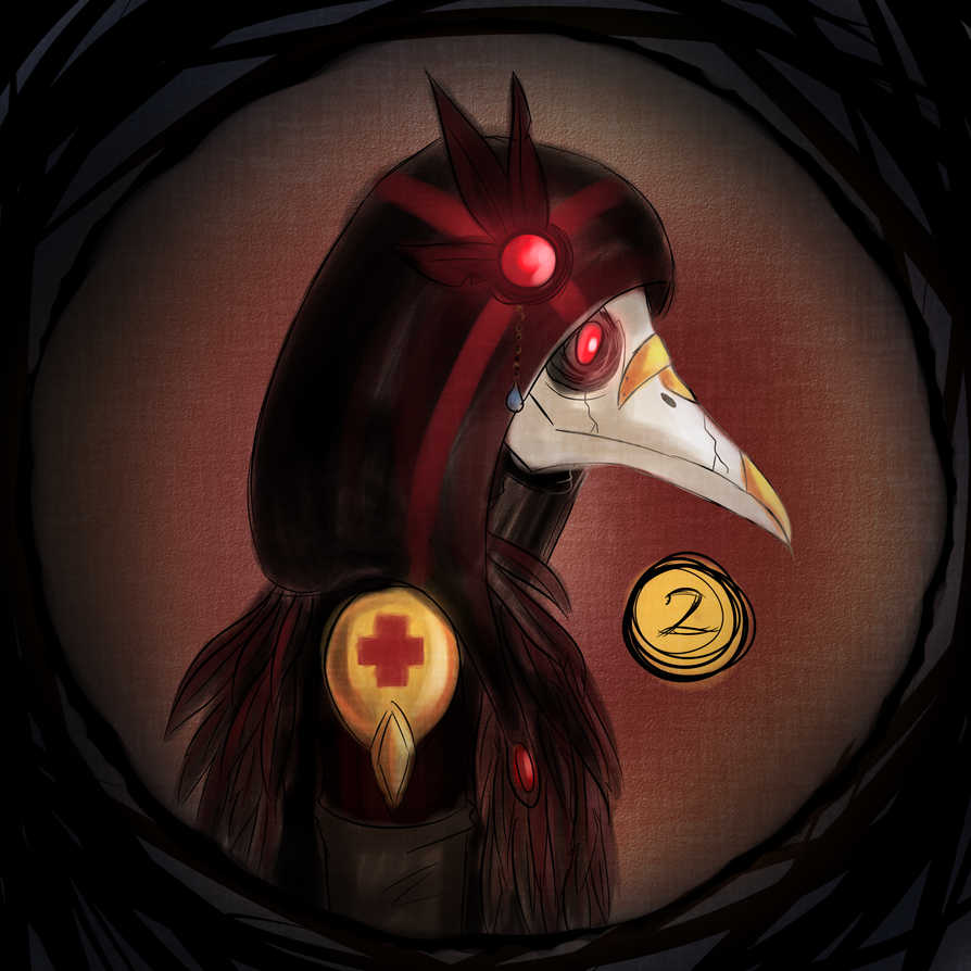 Day 2 - Crow by lealin