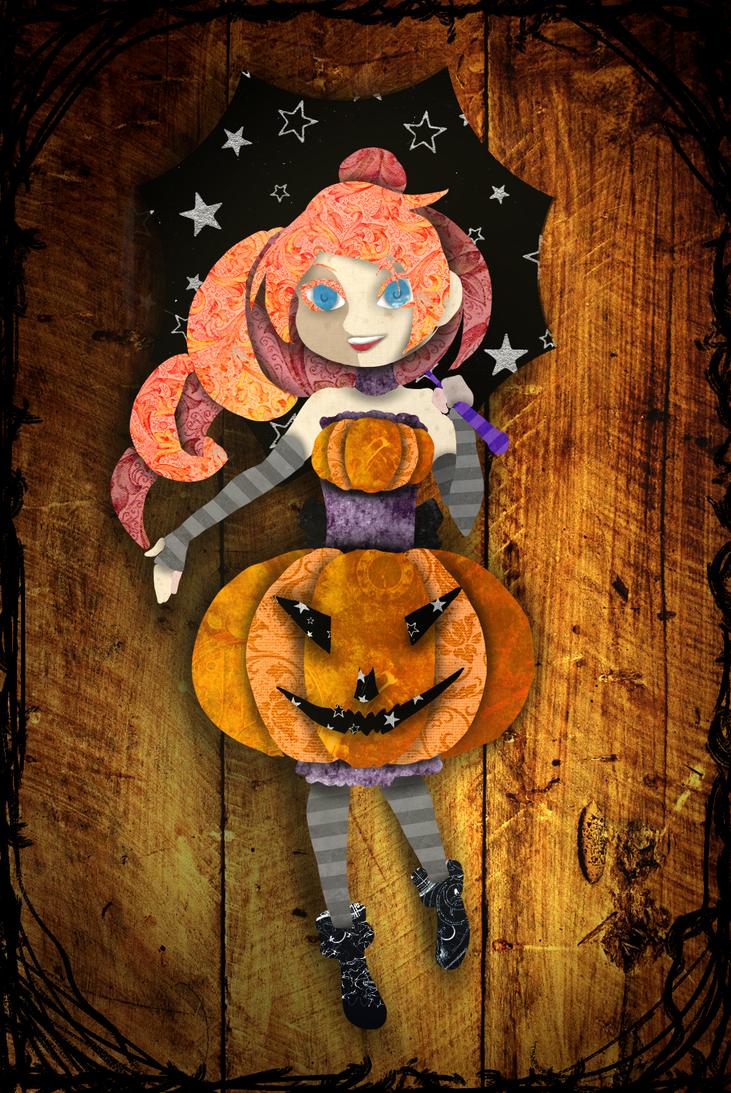 Day 3 - Pumpkin by lealin