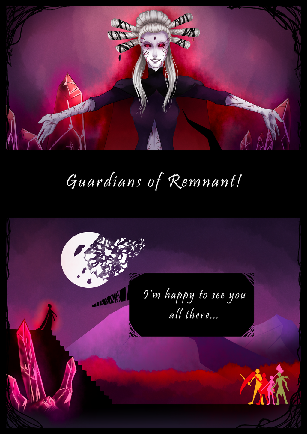Rwby Short Comic Page 1 By Lealin On Deviantart