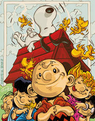 60 years of Peanuts by eldeivi
