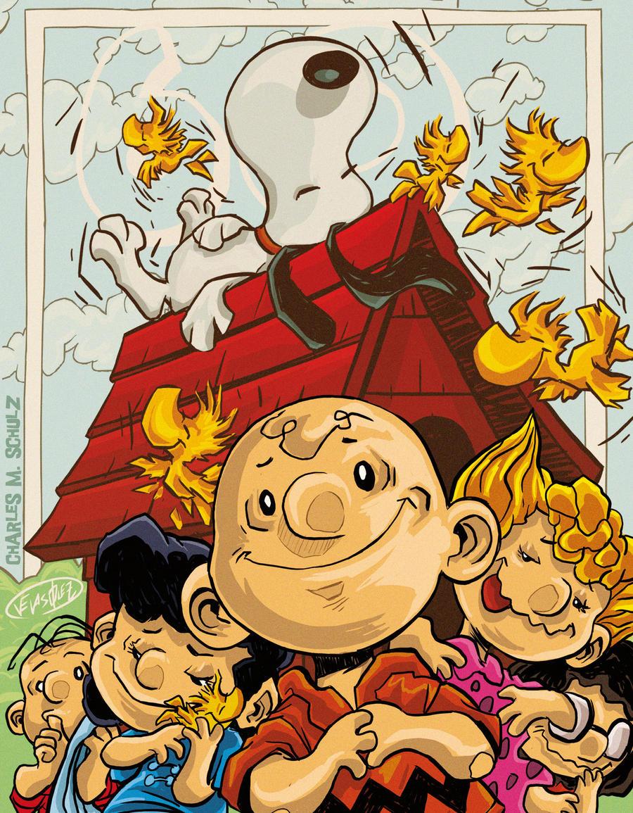 60 years of Peanuts by eldeivi