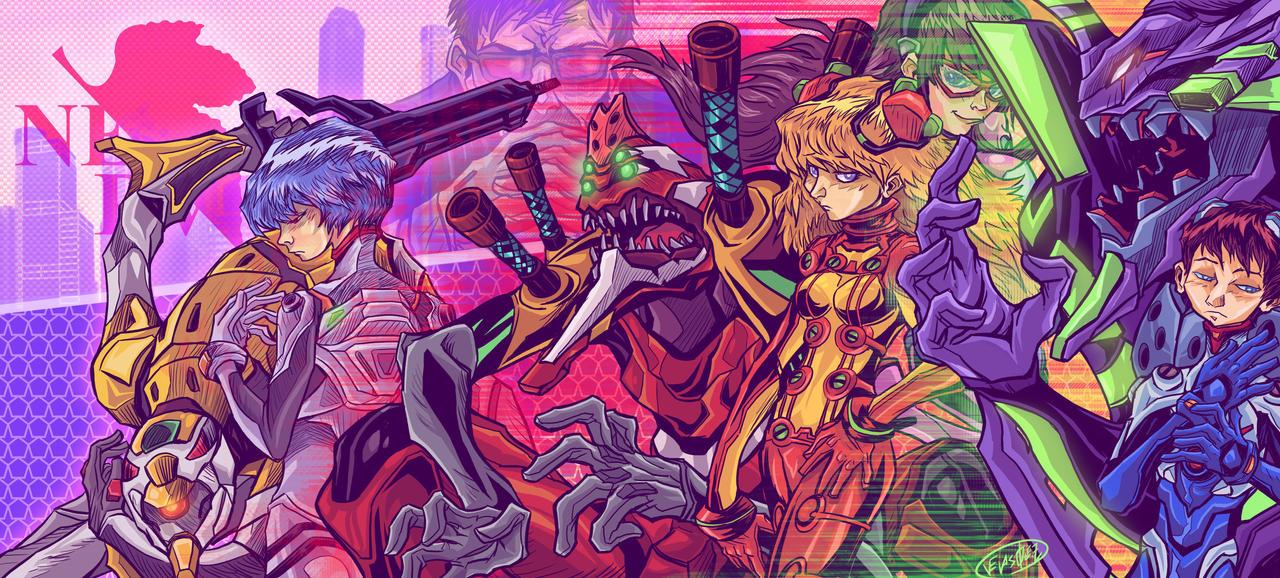 Rebuild of Evangelion by eldeivi
