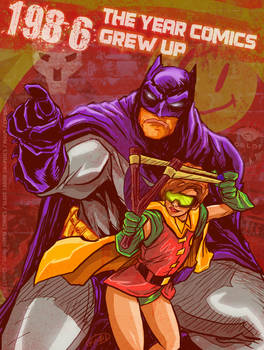 The Year comics grew up