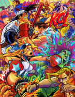 Selected Capcom Fighting Tribute by eldeivi