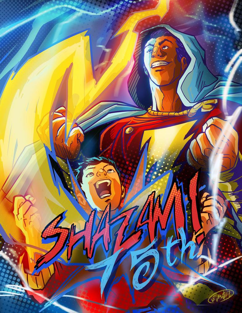 Shazam 75th by eldeivi