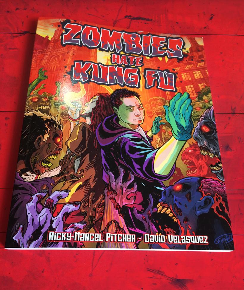 Zombies Hate KungFu - Graphic Novel by eldeivi