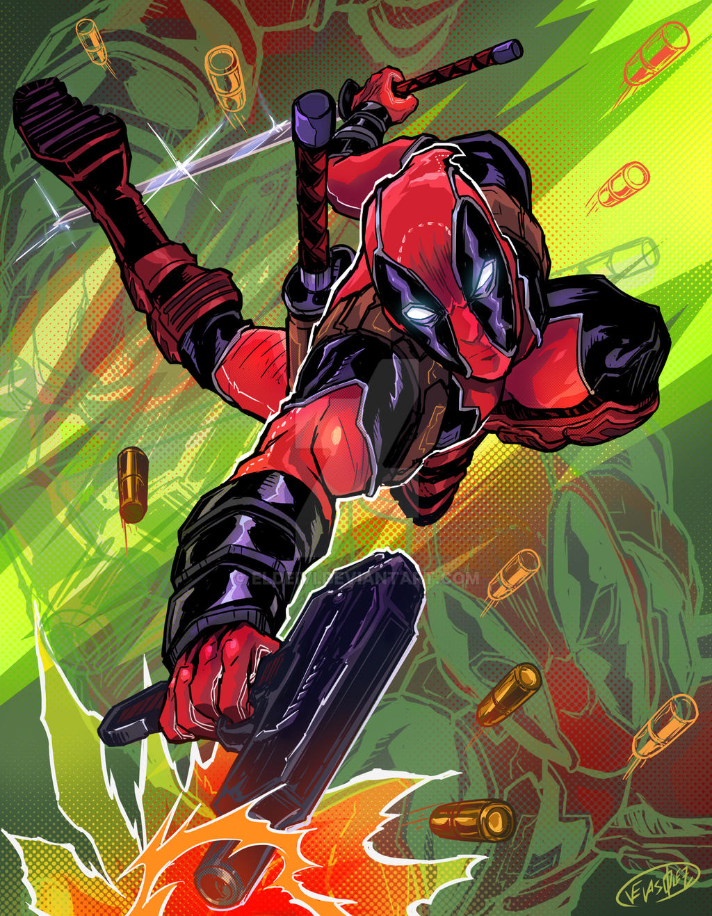 25Th Deadpool Anniversary by eldeivi