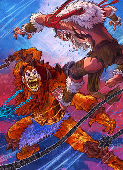Beastman vs Monkian
