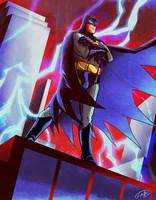 25TH Anniversary of Batman: The Animated Series by eldeivi