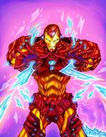 The Iron Man by eldeivi