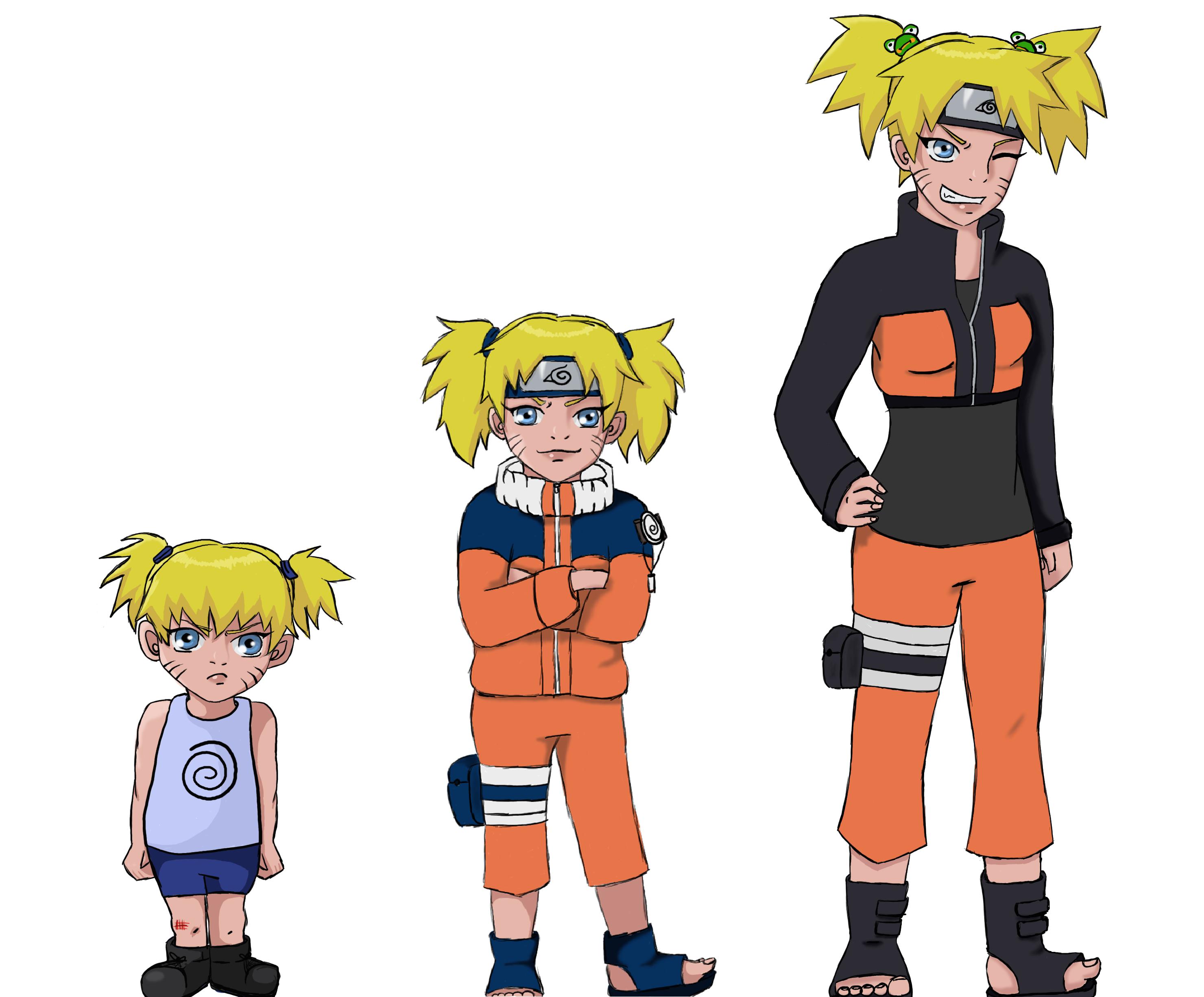 Genderbent Naruto by supergerbilbaby on DeviantArt