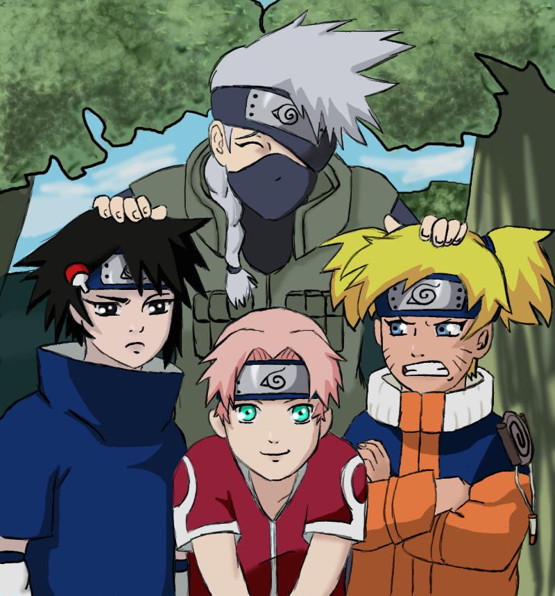 Team Kakashi Time Travel Fanfiction