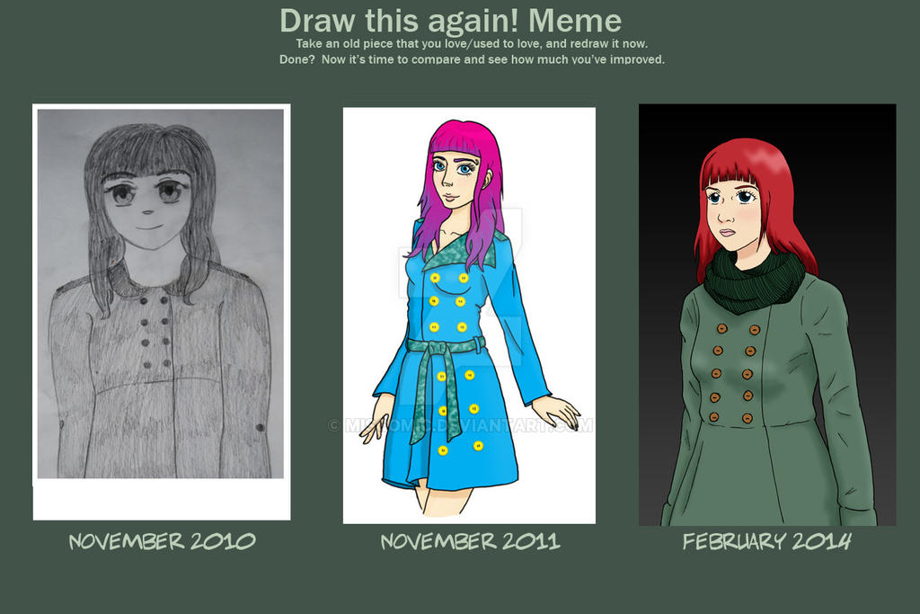 draw_this_again__meme__girl_in_trench_coat_by_miscomic d77abym draw this again! meme girl in trench coat by miscomic on deviantart