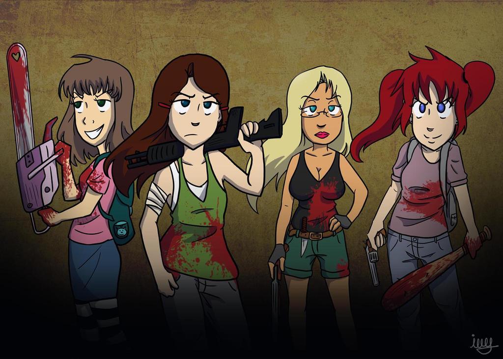 Zombie Apocalypse by MISComic