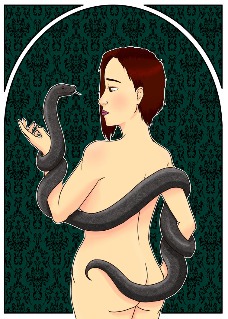 The Girl and the Snake by MISComic