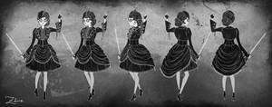 ETHEREAL iPad Game Concept Art - Zelina character