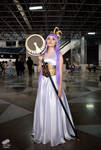 Athena Saint Seiya cosplay by sanosukeleon