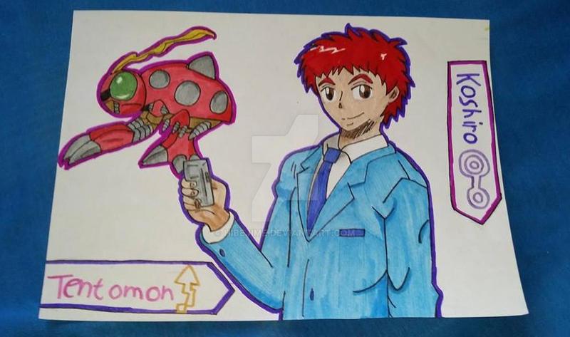 Koshiro and Tentomon by Hibejime
