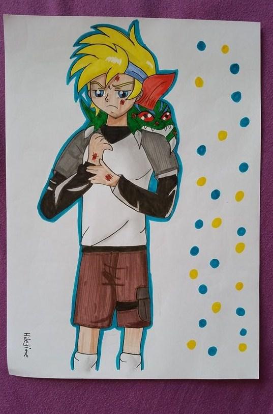 Gift: Dan Ike and Betamon by Hibejime