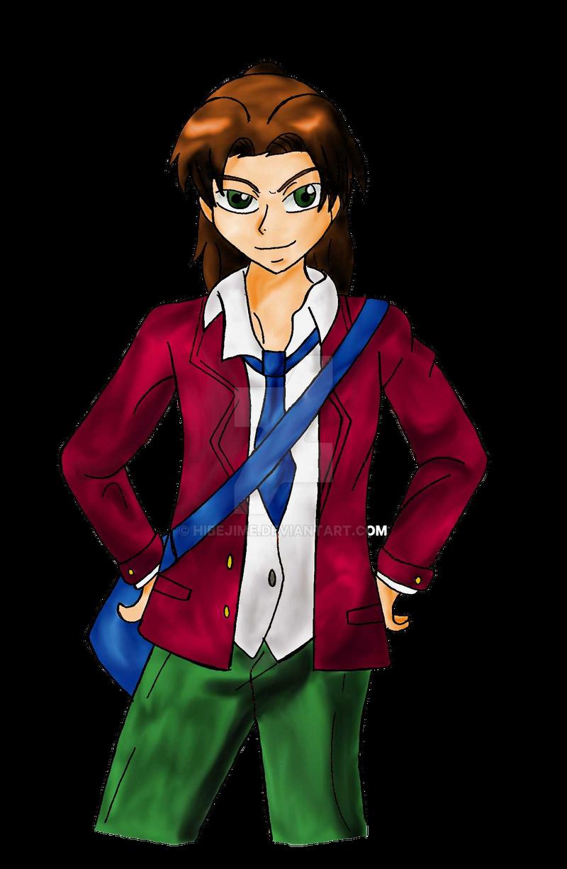 Masaru ready for school by Hibejime
