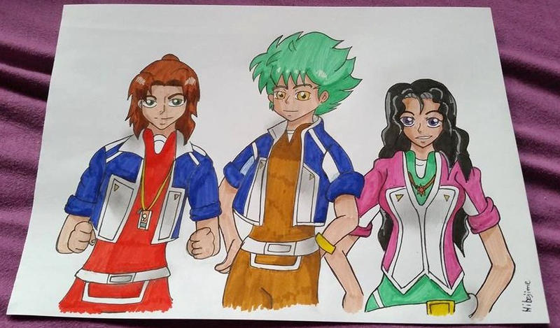 DATS crew by Hibejime