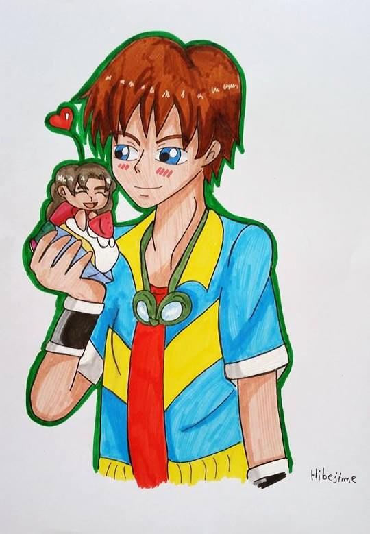 Pc:  Kurisu  and Ani by Hibejime