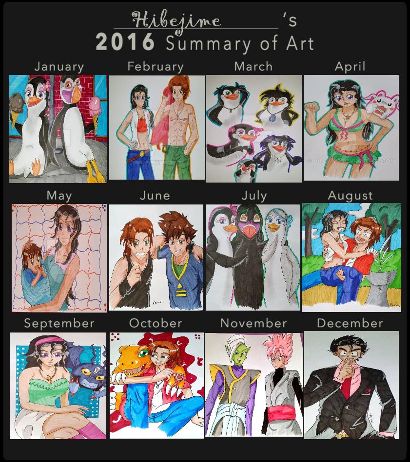 2016 Summary Of Art by Hibejime