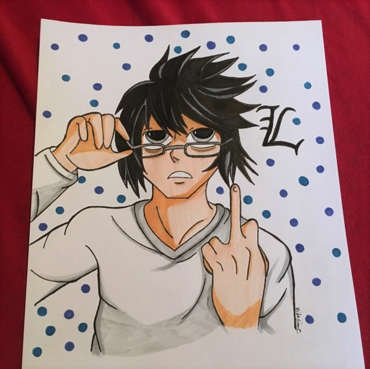 L aka Ryuzaki by Hibejime